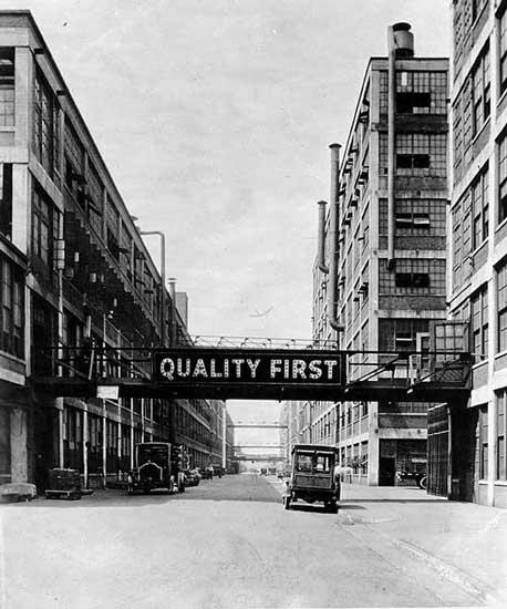 Packard Avenue early