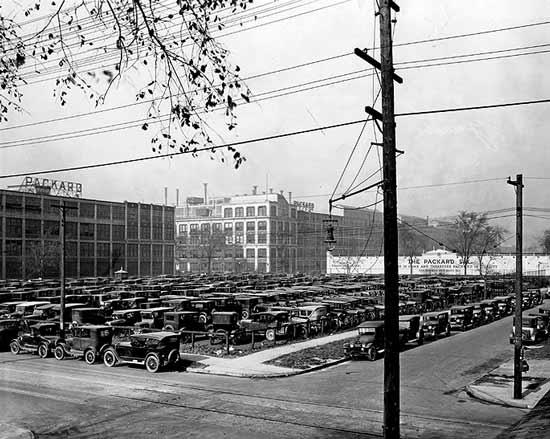Packard lot