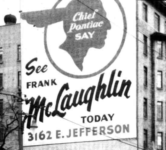 McLaughlin Pontiac sign Jefferson