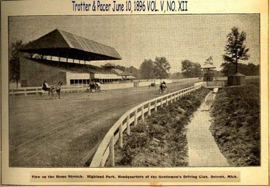 Highland Park Track 1896