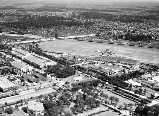Michigan State Fair aerial 1930s