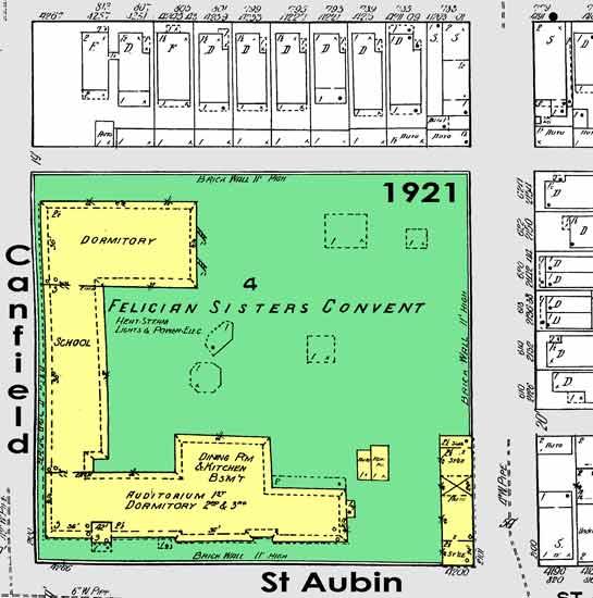 Felician Academy 1921