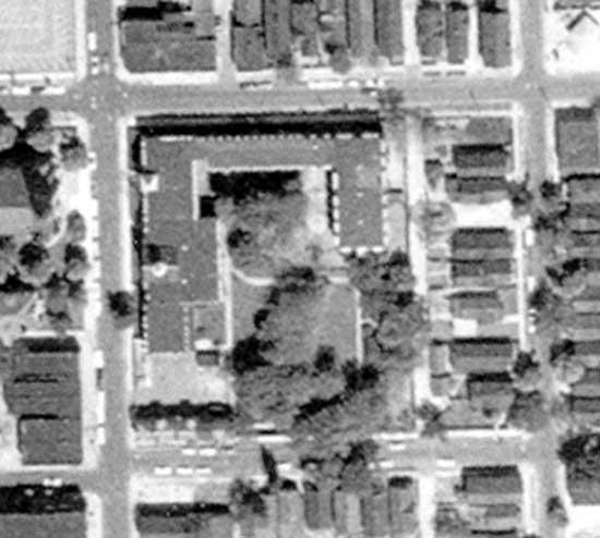 Felician Academy 1961 aerial
