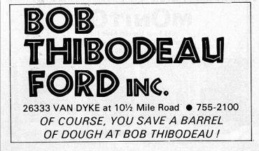 Bob Thibodeau Ford