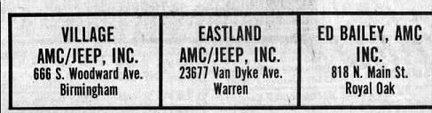 Suburban Detroit AMC Dealers (a)