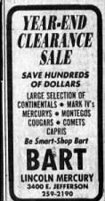 Bart Lincoln Mercury