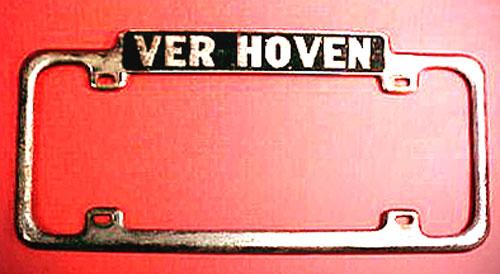 Verhoven Chevrolet frame