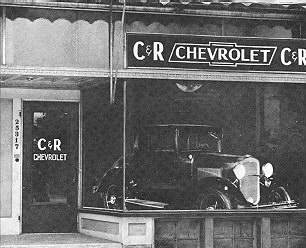 C & R Chevrolet, Center Line, MI, 1930