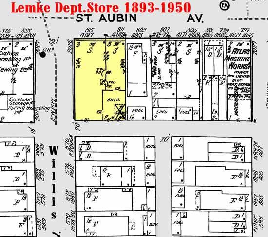 Lemke Dept Store 1921