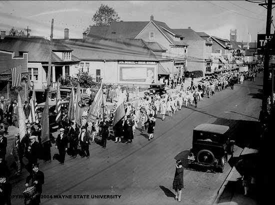 Polish Parade 1920s