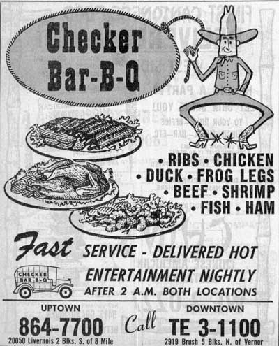 Checker Bar-B-Q