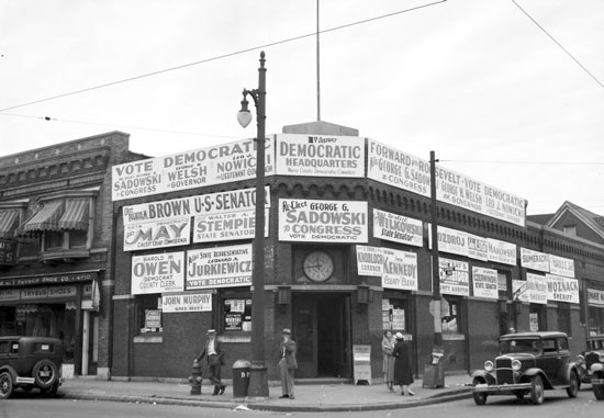 Chene and Forest 1930s Dem HQ