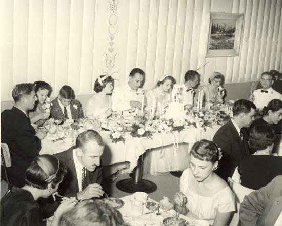 Perini's Restaurant Detroit 1956