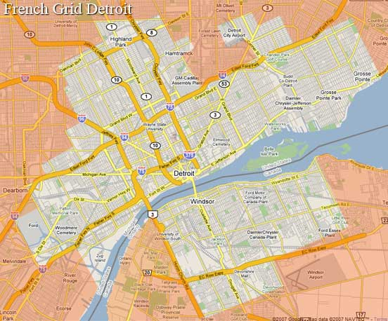 French Grid Detroit