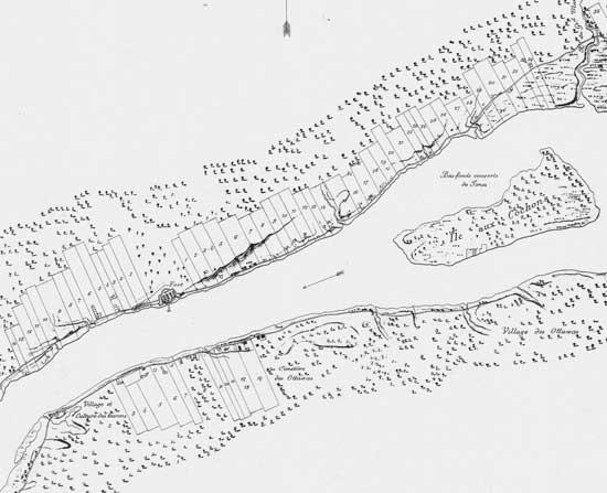 Detroit River 1796