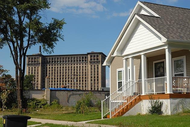 Infill Housing in Southwest Detroit