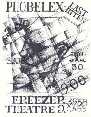 Freezer Theater flyer