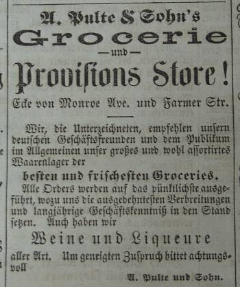 Pulte Grocery Ad