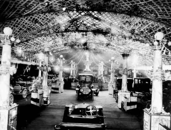 1910 Detroit Autoshow