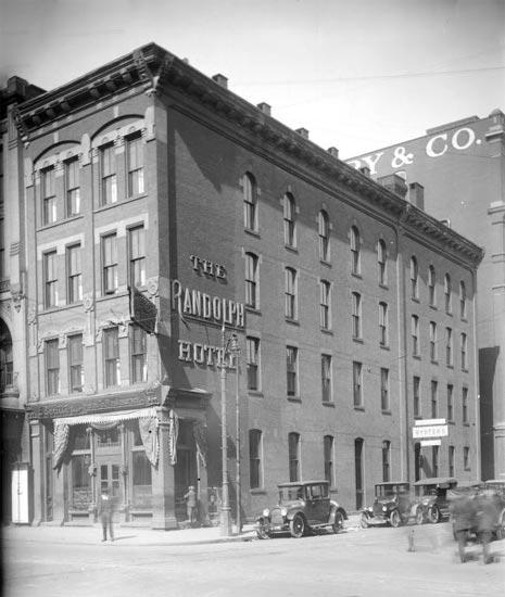 Randolph Hotel Detroit