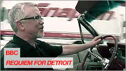 "Lowell Boileau filmed in BBC Documentary ""Requiem for Detroit"""