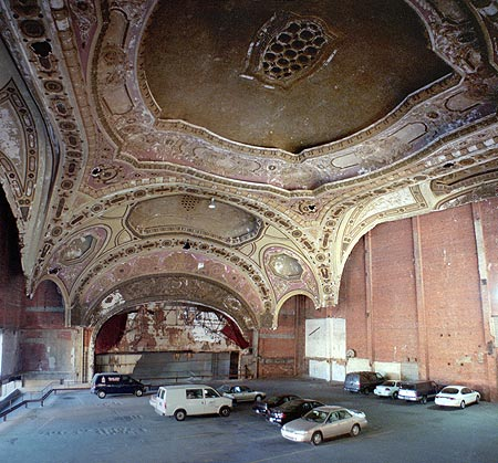 Michigan Theater Ruins Detroit